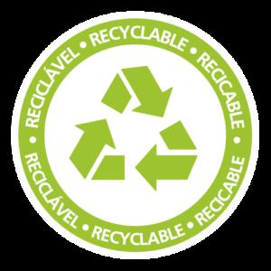 Selo Produto Reciclável